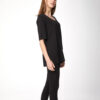 wst4082-black-thought-plain-short-sleeve-womens-bamboo-top-4