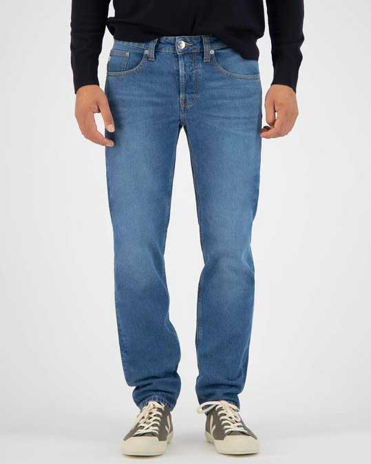 MUD jeans – Regular Dunn – stone blue jeans