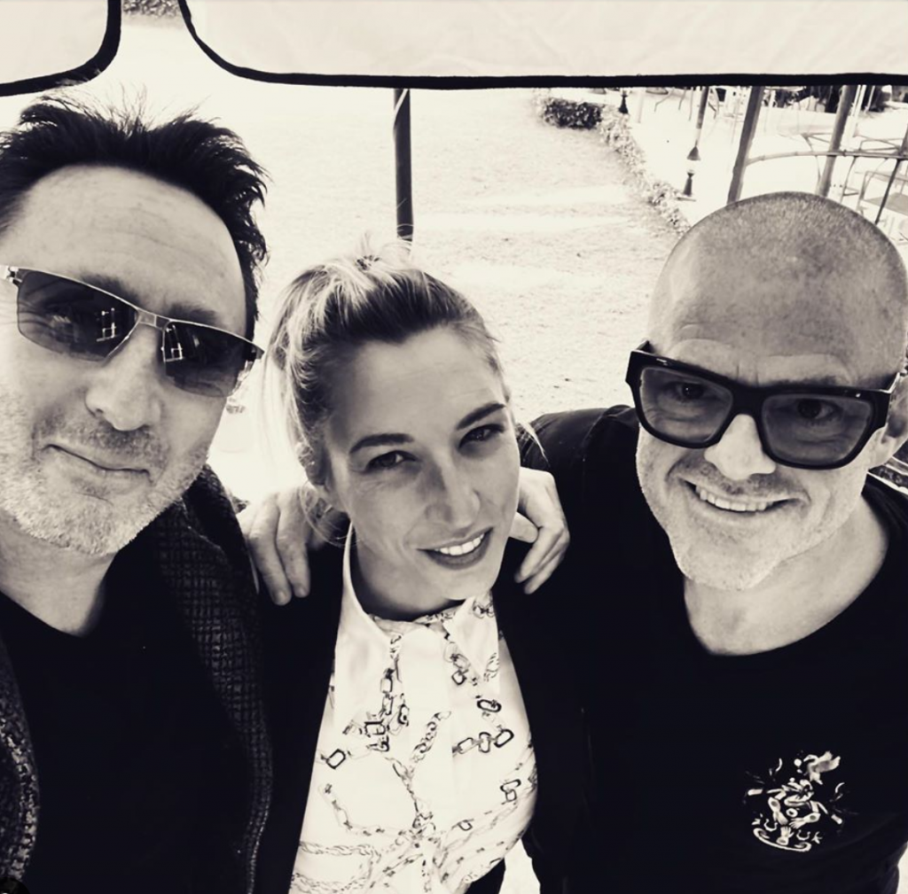 Julian with Heston and Stephanie