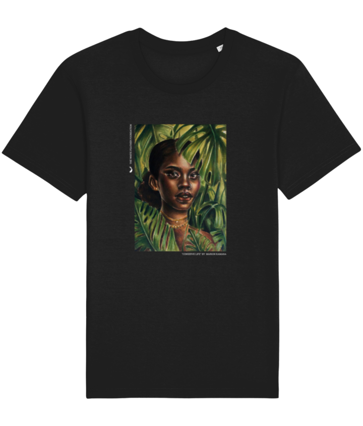 Limited Edition 2021 Earth Day Conserve Life T-shirt by Marion Kamara 1