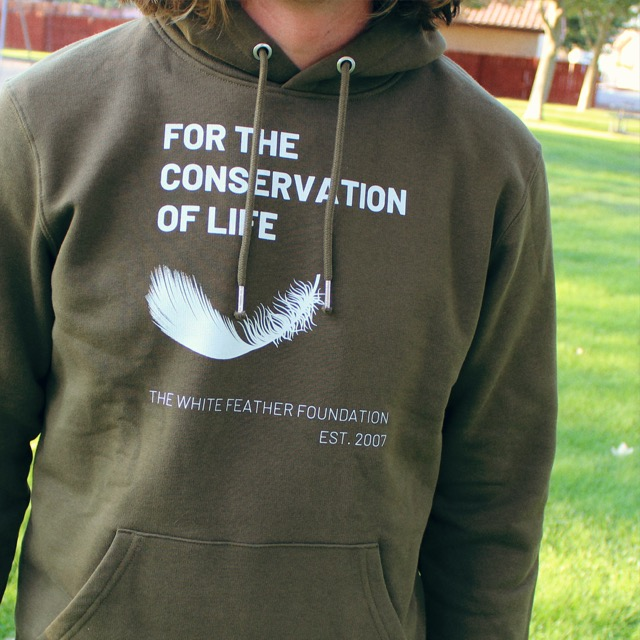 Conserve Life Feather Story Hoodie - 2021 1