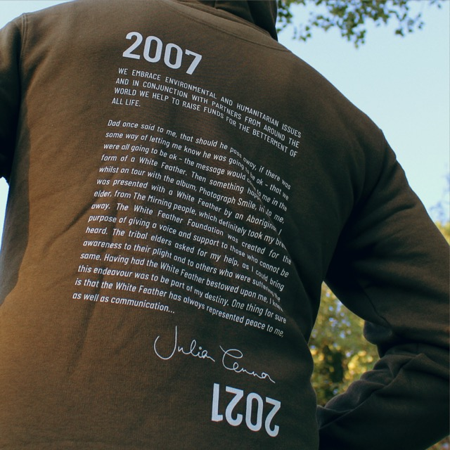 Conserve Life Feather Story Hoodie - 2021 2