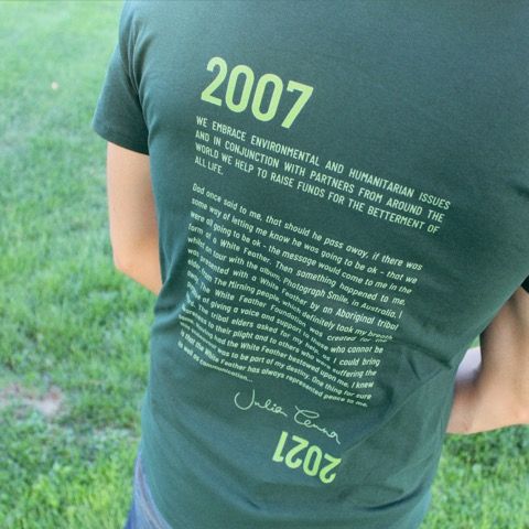 Conserve Life Feather Story T-Shirt - 2021 3