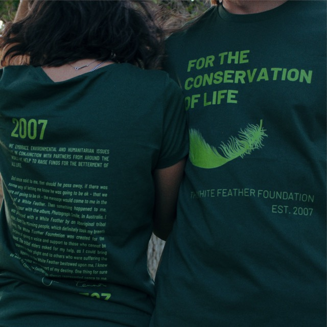 Conserve Life Feather Story T-Shirt - 2021 4