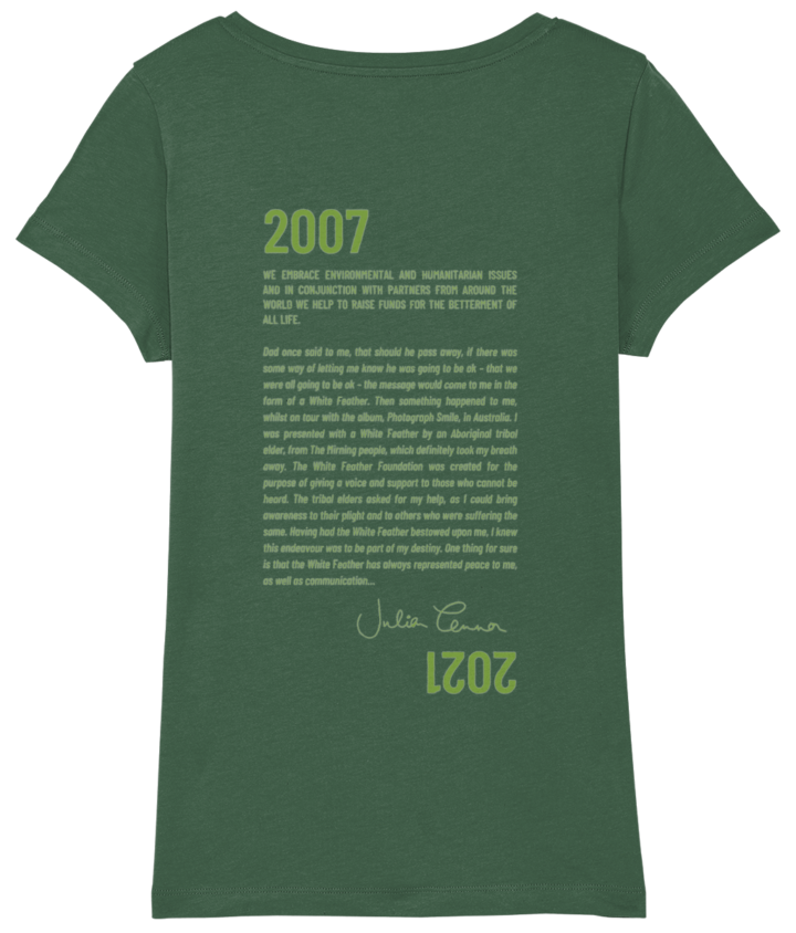 Ladies' Fit Feather Story T-shirt - 2021 2