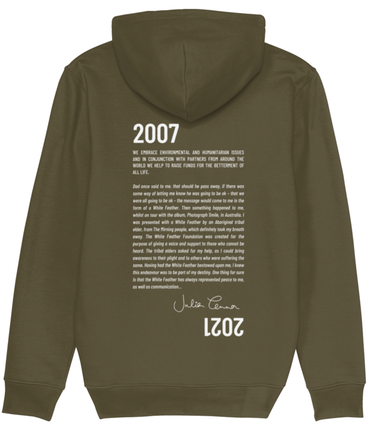 Conserve Life Feather Story Hoodie - 2021 3