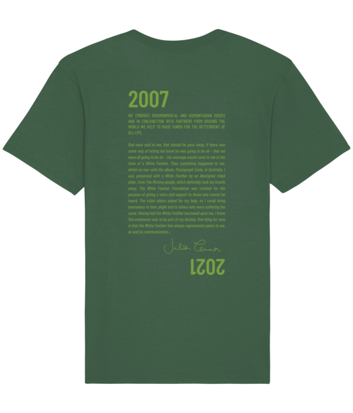 Conserve Life Feather Story T-Shirt - 2021 2